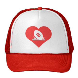 I Love Rugby Tries Cool Symbol Trucker Hat