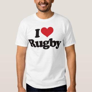 I Love Rugby Tshirt