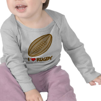 I Love Rugby T Shirts