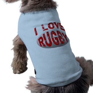 I Love Rugby Tshirts, Apparel and Products Tee