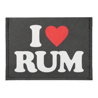 I LOVE RUM CARD WALLET