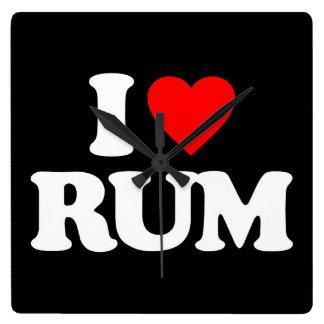 I LOVE RUM CLOCKS
