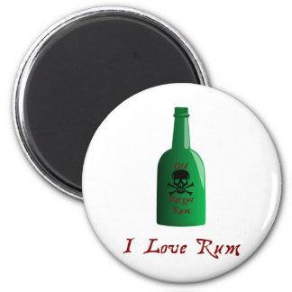 I love Rum Magnet