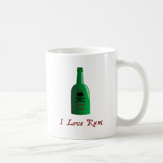 I love Rum Coffee Mugs