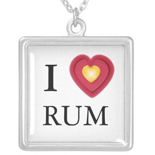 I Love Rum Necklace