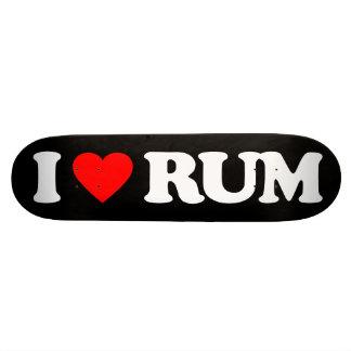 I LOVE RUM SKATEBOARD