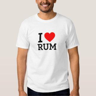 I Love Rum T-Shirt