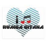 I Love Rumba Gitana Post Card
