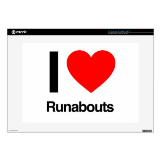 i love runabout laptop skins