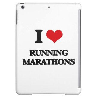 I love Running Marathons iPad Air Covers