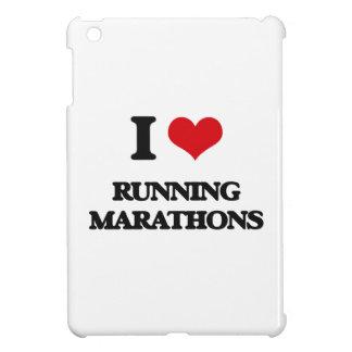 I love Running Marathons iPad Mini Case