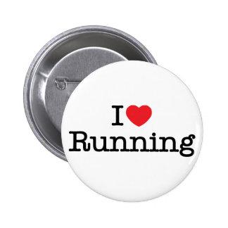 I love running pinback button