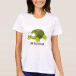 I Love Running - Turtle Shirt