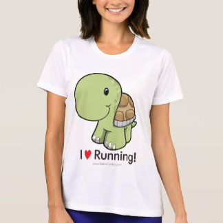 I Love Running - Turtle T-Shirt