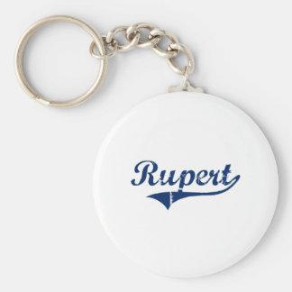 I Love Rupert Idaho Keychains