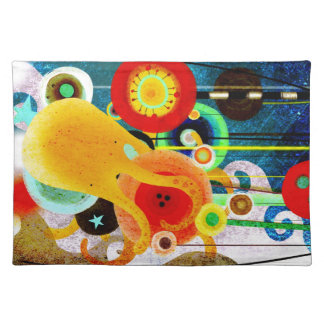 I LOVE RUPYDETEQUILA ILLUSTRATION CLOTH PLACEMAT