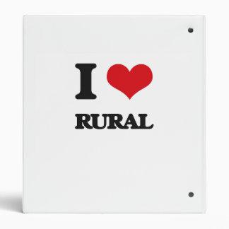 I Love Rural Binder