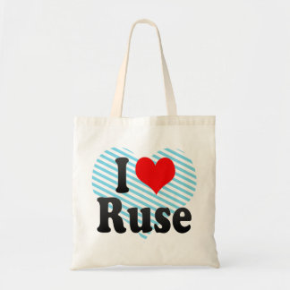 I Love Ruse, Bulgaria Canvas Bag
