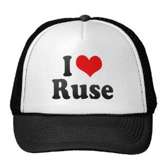 I Love Ruse, Bulgaria Hats