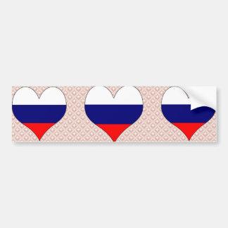 I Love Russia Bumper Stickers