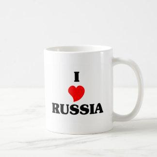 I Love Russia Coffee Mug