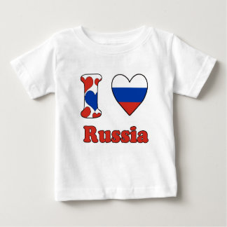 I love Russia T Shirt