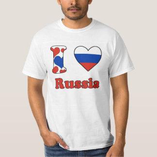 I love Russia Tee Shirt