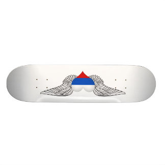 I Love Russia -wings Skate Deck