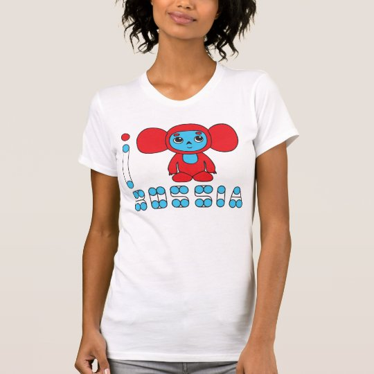 I LOVE RUSSIA women's T-shirt