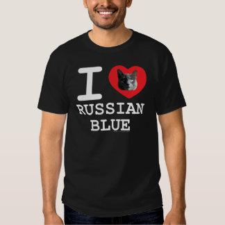 I Love Russian Blue T-shirt