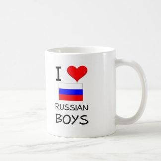 I Love Russian Boys Coffee Mug