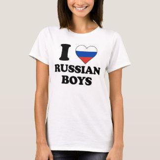 I love Russian Boys T-Shirt