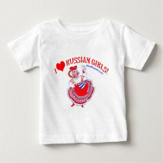 I love Russian Girls Baby T-Shirt