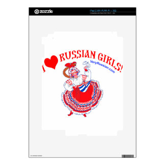I love Russian Girls Decals For The iPad 2
