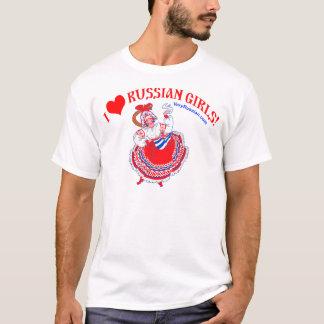 I love Russian Girls T-Shirt