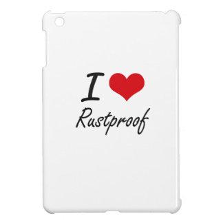 I Love Rustproof iPad Mini Cases