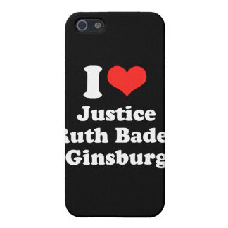 I LOVE RUTH BADER GINSBURG.png iPhone 5/5S Cover