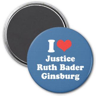 I LOVE RUTH BADER GINSBURG - .png Magnets