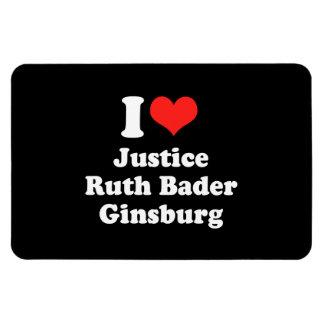 I LOVE RUTH BADER GINSBURG.png Rectangular Magnets