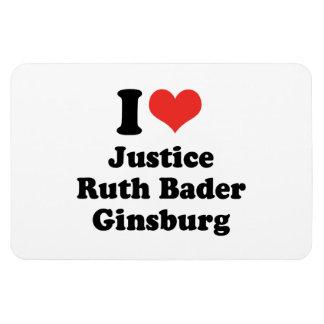 I LOVE RUTH BADER GINSBURG - .png Flexible Magnets