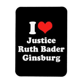I LOVE RUTH BADER GINSBURG.png Rectangular Magnet
