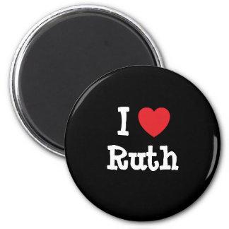 I love Ruth heart T-Shirt Fridge Magnets