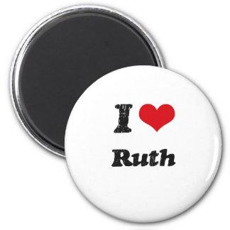 I Love Ruth Fridge Magnets