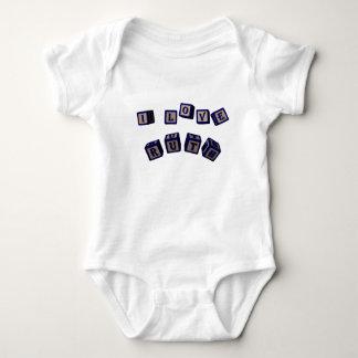I love Ruth toy blocks in blue. Baby Bodysuit