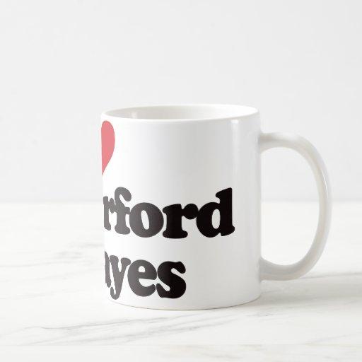 I Love Rutherford B Hayes Coffee Mugs
