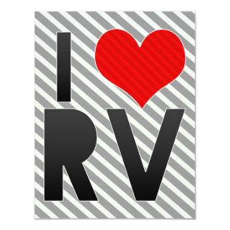 I Love RV Card
