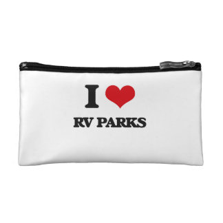 I love Rv Parks Cosmetic Bags