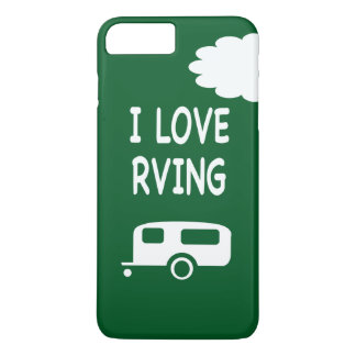 I Love RVing - Green iPhone 7 Plus Case
