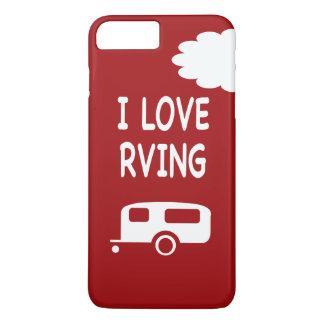 I Love RVing - Red iPhone 8 Plus/7 Plus Case