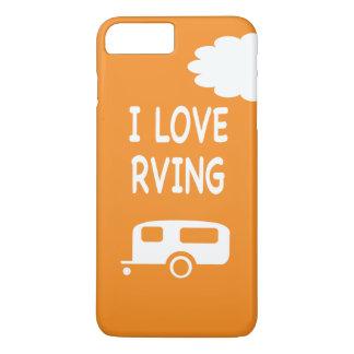 I Love RVng - Orange iPhone 7 Plus Case